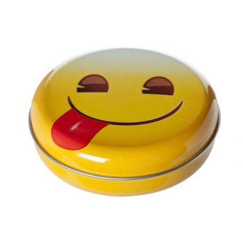 Cosy & Trendy Candy Box Smileys D12xh3.5cm