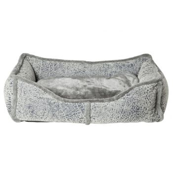 Cosy & Trendy Rectangle Bolster Bed Grey 60x40xh20cm