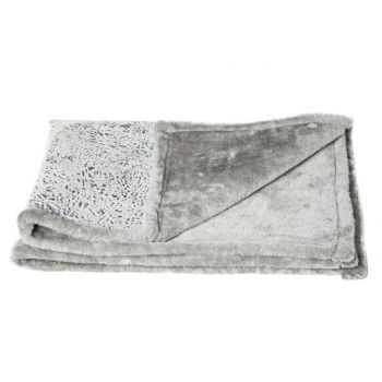 Cosy & Trendy Blanket Pet Medium Grey 88.5x68.5cm