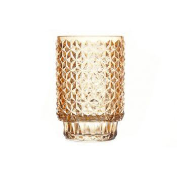 Cosy @ Home Deco Glass Mosaic Orange 9x9x13cm