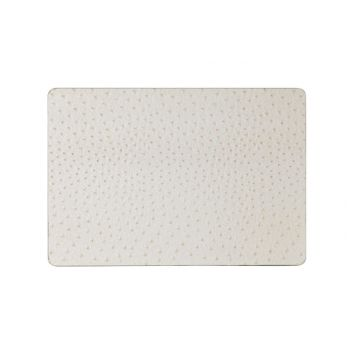 Cosy & Trendy Placemat Leather Look Ivory