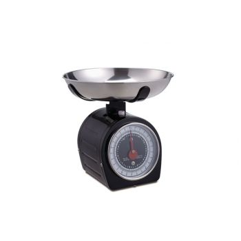 Cosy & Trendy Kitchen Scale And Bowl Black
