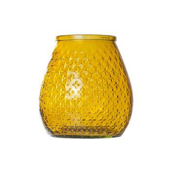 Cosy @ Home Hurricane Vase Glass 270ml D18xh19cm Yel