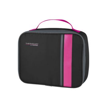 Thermos Neo Standard Lunch Kit Black-pink
