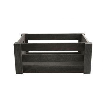 Cosy & Trendy Crate Wood Medium 33x22xh13cm Grey