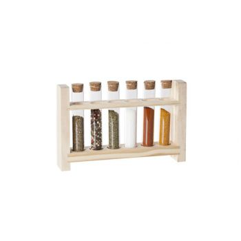Cosy & Trendy Tubes With Wood Stand Set 7