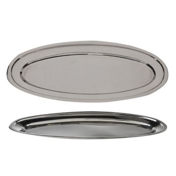 Cosy & Trendy Oval Ss Serving Tray 50cm