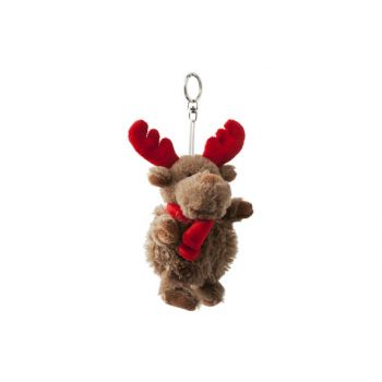 Cosy @ Home Rudolf Keyholder Plush Brown Red