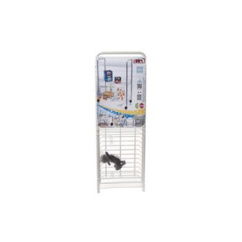 Artex Big Store Trolley 3shelves White
