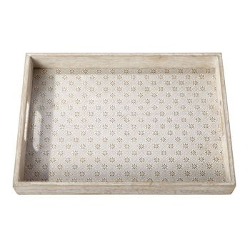 Cosy @ Home Tray Agadir Recta Wood 25x35x4.5cm