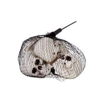 Cosy @ Home Bag With 6 Skulls 5x4cm