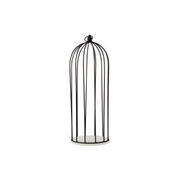 Cosy @ Home Plate With Cage Black D8 18x18xh50cm