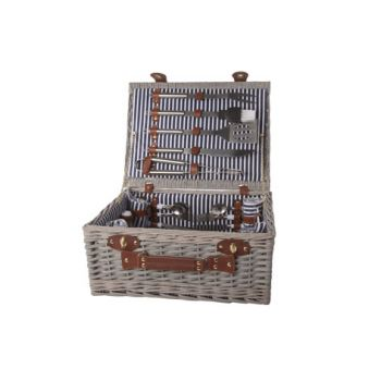 Cosy & Trendy Picnic Basket 4p-cutlery-plates-glasse-