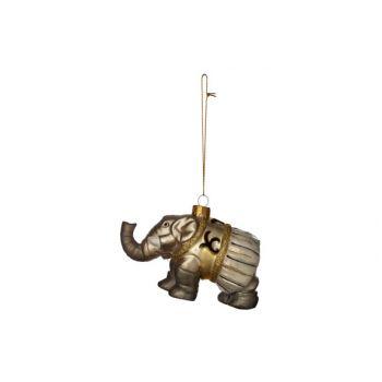 Cosy @ Home Circus Elefant Hanger Glass 11x5x7cm