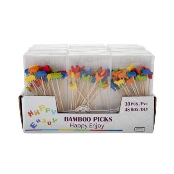 Cosy & Trendy Display Sticks 24sets Of 50pcs 3-types