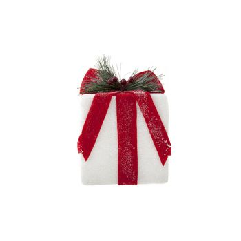 Cosy @ Home Giftbox Hanger Red-white 15x15x19cm