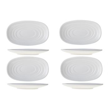 Cosy & Trendy Olive Oil Plate 16x9.5xh1.8cm Set 4