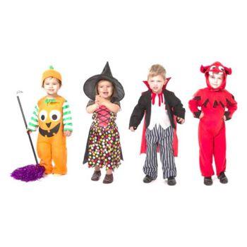 Goodmark Halloween Costume Todles 1-4y 4 Types
