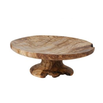 Cosy & Trendy Cake Stand 28-32cm Olivewood