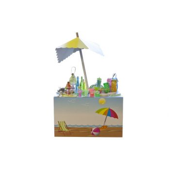 Brandless Podium-display Summertime 90x137x8.3cm