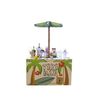 Brandless Podium-display Tiki Bar 80x90x8.3mm