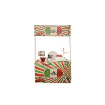 Brandless Podium-display Bar Pizza-pasta 78x132x