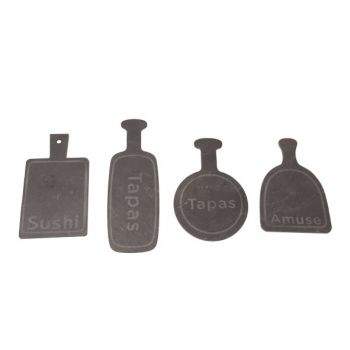 Cosy & Trendy Cutting Board Mini Slate 4 Types