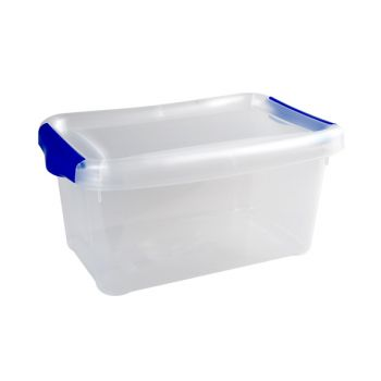 Hega Hogar Box 2.5l M Deck. 2clips-hv Blue