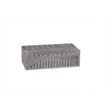 Cosy @ Home Storage Box Maroc  Grey 23x11.5x7cm