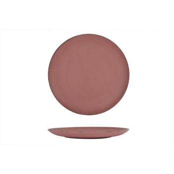 Cosy @ Home Plate Dark Pink Wood D44cm