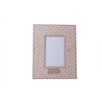 Cosy @ Home Photo Frame Pink  Metal 20xh25cm