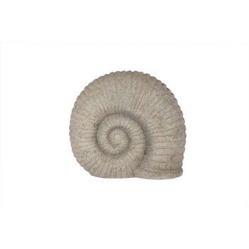 Cosy @ Home Statue Snail Resine Beige 21x11x18.2cm