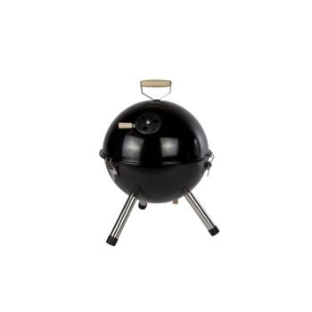 Cosy & Trendy Black Bbq Ball Shape Table Model D30xh42
