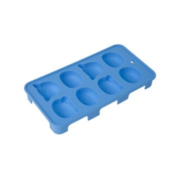 Cosy & Trendy Ice Cube Tray Animals 20x11x2.5cm Blue