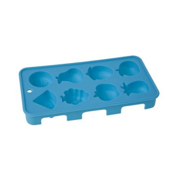 Cosy & Trendy Ice Cube Tray Fruit 20x11x2.5cm Blue