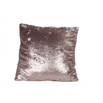 Cosy @ Home Cushion Pink Paillettes 40x40cm