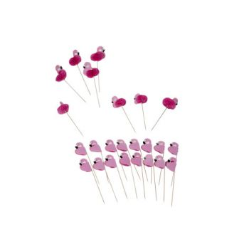Cosy & Trendy Party Sticks Flamingi Set24
