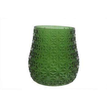 Cosy @ Home Hurricane Oslo Glass Green 18x18x18cm