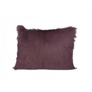 Cosy @ Home Cushion Fur Goat Pruine 30x40cm