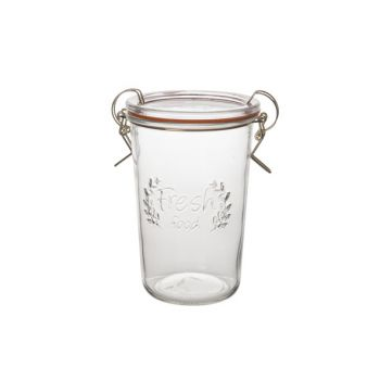 Cosy & Trendy Glass Jar  D11,7xh17cm