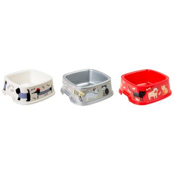 Hega Hogar Pet Dining Tray Square 0.75l 3 Types