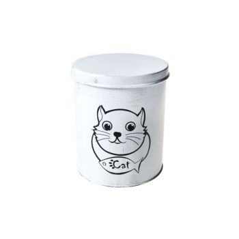 Cosy & Trendy Canister For Catfood D15.5xh18cm