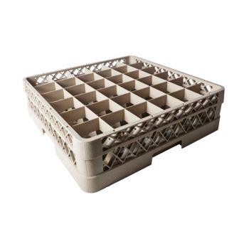 Plastibac Glass Basket 36 Compartments 74x74mm