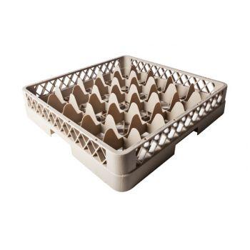 Plastibac Glass Basket 25 Compartments 90x90mm