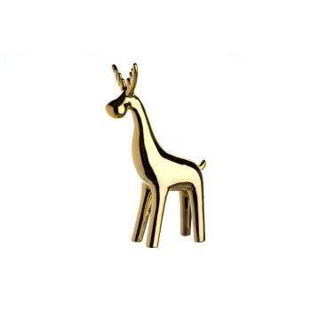 Cosy @ Home Deer Gold Porcelain 45x41xh36