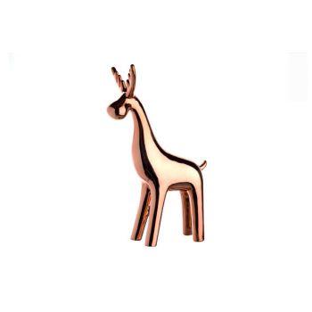 Cosy @ Home Deer Copper Porcelain 45x41xh36