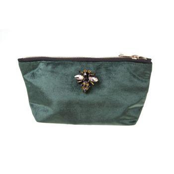 Cosy @ Home Toilet Bag  Green Rectangular Textile 19