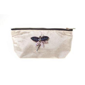 Cosy @ Home Toilet Bag  Beige Rectangular Textile 19