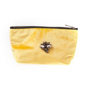 Cosy @ Home Toilet Bag  Ochre Rectangular Textile 19