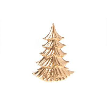 Cosy @ Home Xmas Tree Matt Copper Pottery 22x10,3xh1